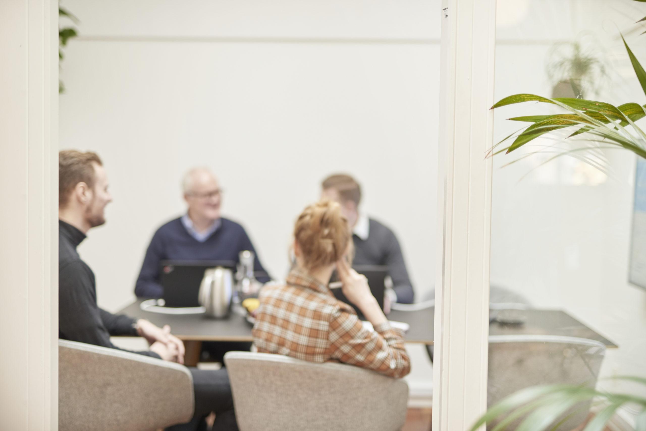 Customer Service Management Miljø møde lokale foto